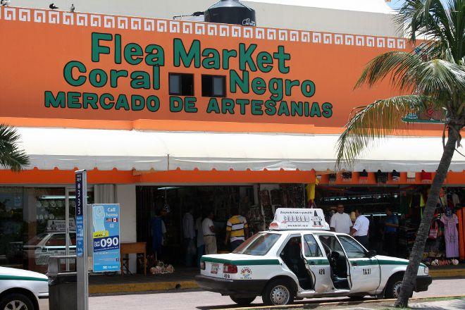 Flea Market Coral Negro, Cancun, Mexico
