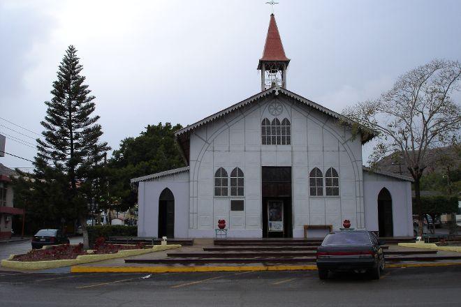 Iglesia Santa Barbara, Santa Rosalia, Mexico
