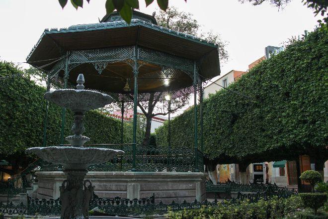 Jardin de la Union, Guanajuato, Mexico