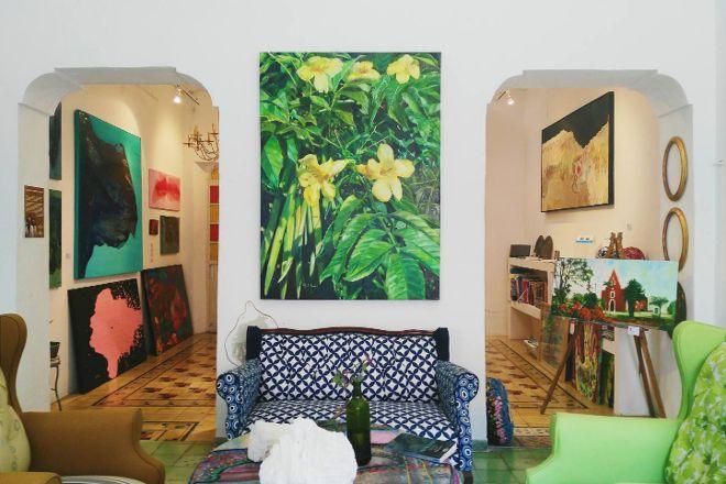 La Sala Art Gallery, Merida, Mexico