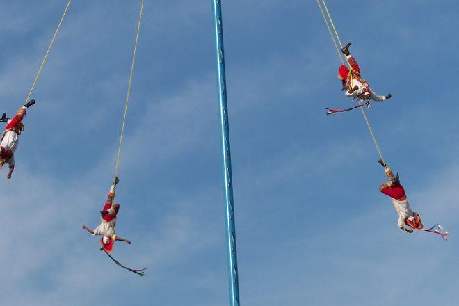 Los Voladores of Papantla, Veracruz, Mexico