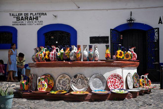 Mercado de Plata o Tianguis Sabatino, Taxco, Mexico