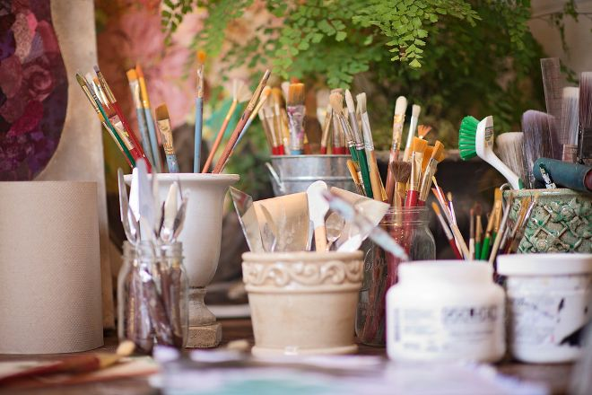 Mi Casa Azul Art Gallery, San Jose del Cabo, Mexico