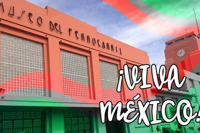 Museo Del Ferrocarril Jesus Garcia Corona, San Luis Potosi, Mexico