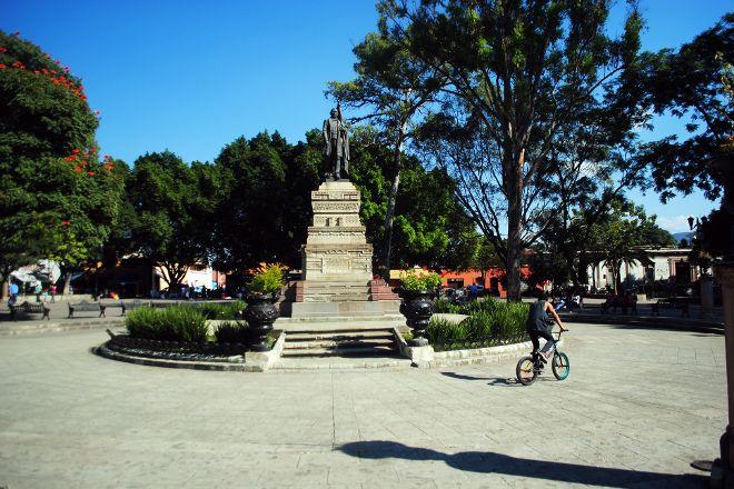 Parque Juarez  El Llano, Oaxaca, Mexico