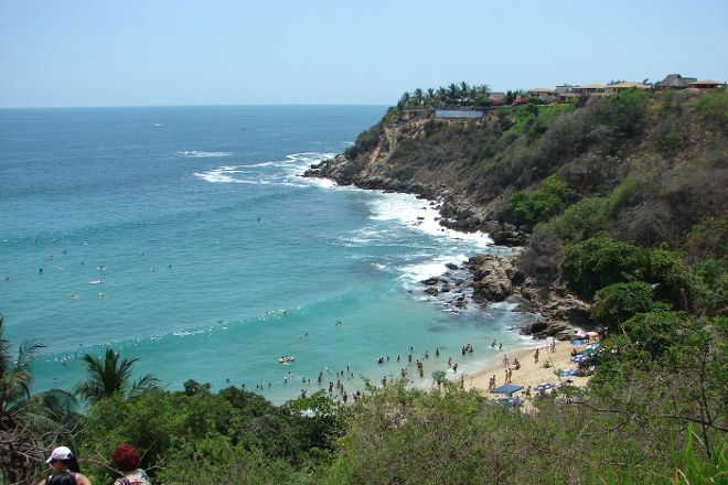 Playa Carrizalillo, Puerto Escondido, Mexico