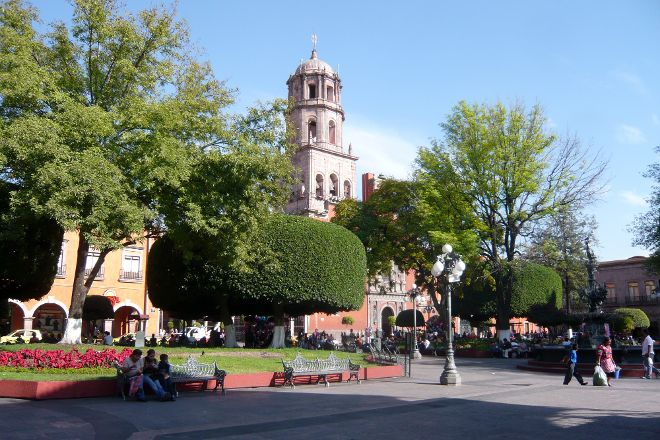 Plaza de Armas, Queretaro City, Mexico