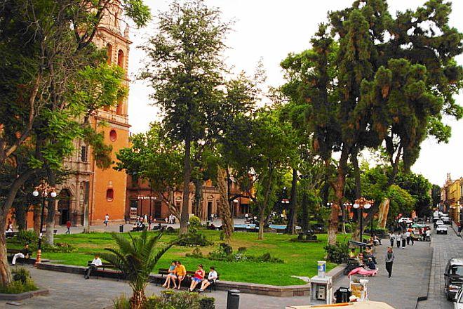 Plaza de San Francisco, San Luis Potosi, Mexico