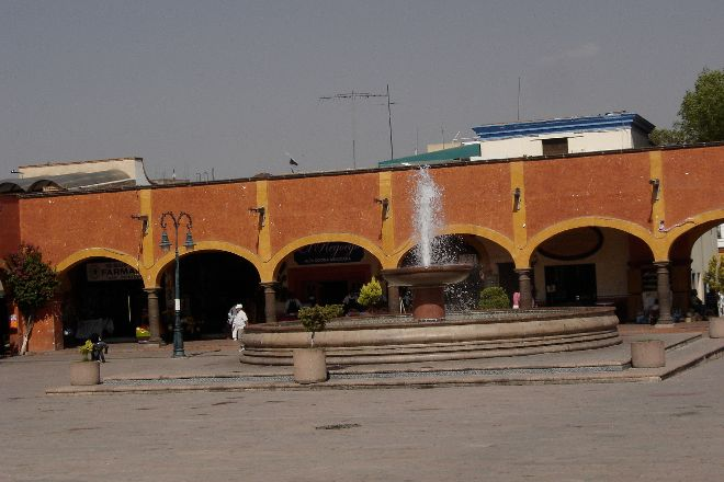 Plaza Miguel Hidalgo, Tequisquiapan, Mexico