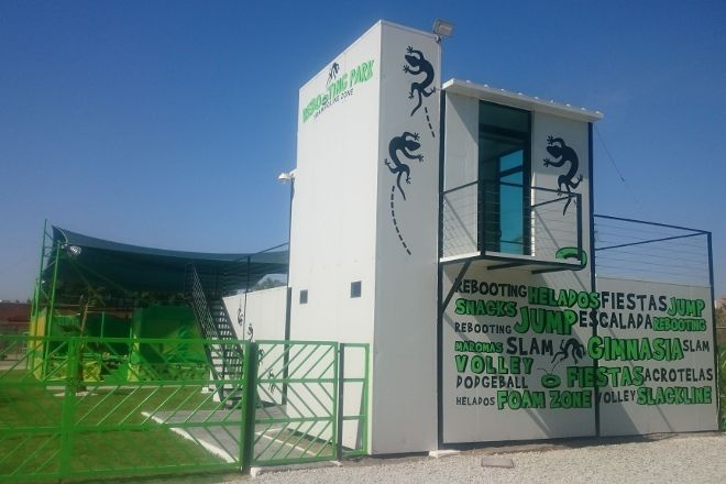 Rebooting Park Trampoline Zone, Atlixco, Mexico