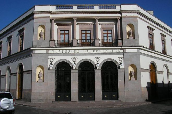 Teatro de la Republica, Queretaro City, Mexico