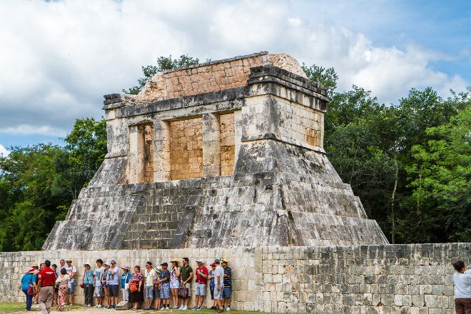 Temple of the Bearded Man, Chichen Itza, Mexico