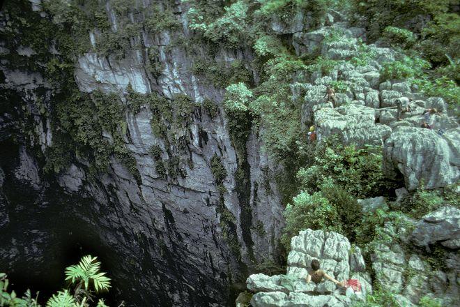 The Cave of Swallows, Aquismon, Mexico