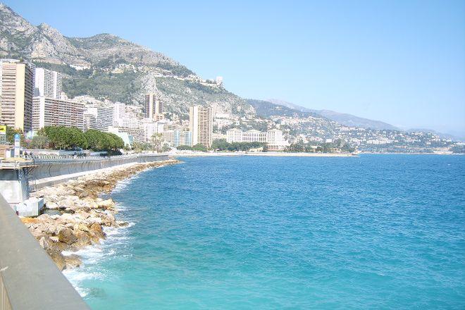 Larvotto Beach, Monte-Carlo, Monaco