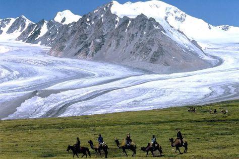 Altai Tavan Bogd National Park, Olgiy, Mongolia
