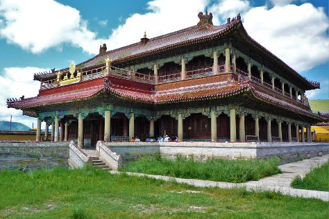 Amarbayasgalant Monastery, Amar Hiyd, Mongolia