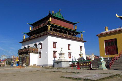 Gandantegchenling Monastery, Ulaanbaatar, Mongolia