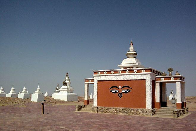 Buddhist Temple Khamaryn, Sainshand, Mongolia