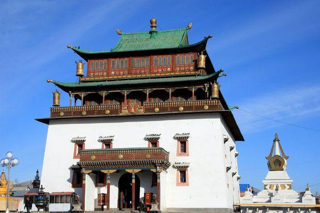 Chenresig Temple, Ulaanbaatar, Mongolia