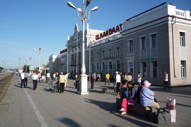 Ulaanbaatar Railway Station, Ulaanbaatar, Mongolia