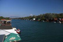 Bojana River, Ulcinj, Montenegro