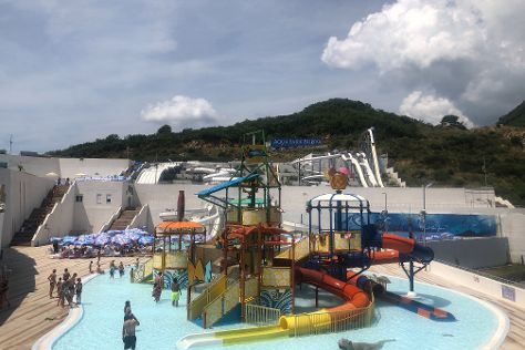 Aquapark Budva, Podostrog, Montenegro