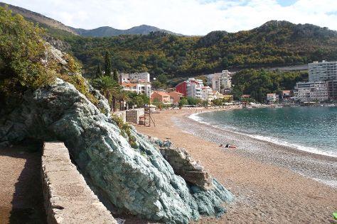 Embankment Bečići, Bečići, Montenegro