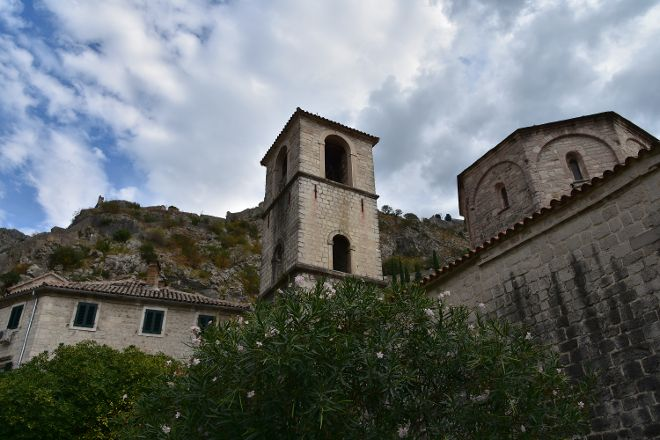 Church of Blažena Ozana, Kotor, Montenegro