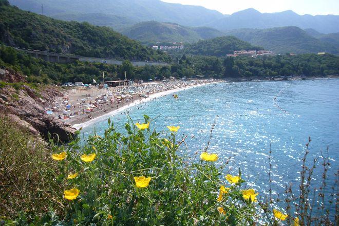 Kamenovo Beach, Budva, Montenegro