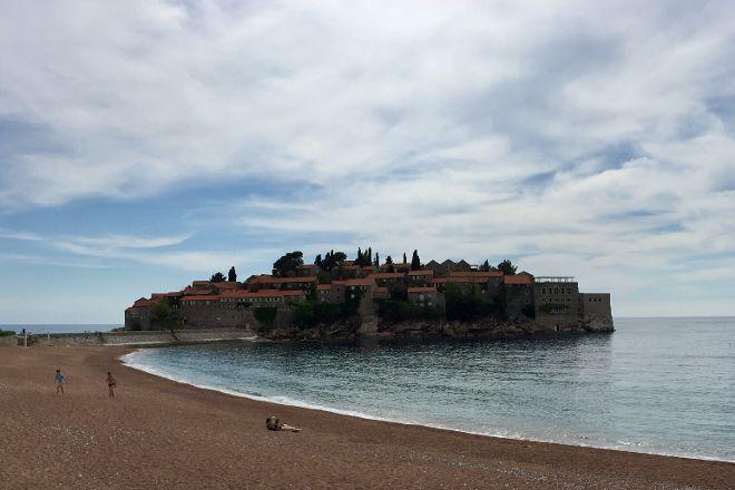 King's Beach, Sveti Stefan, Montenegro