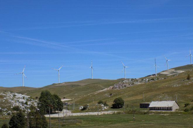 Krnovo Wind Farm, Krnovo, Montenegro