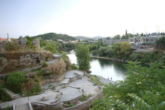 Morača River, Podgorica, Montenegro