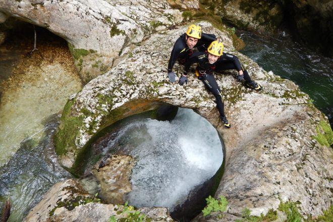 Nevidio Canyoning, Niksic, Montenegro