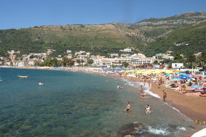 Petrovac Beach, Petrovac, Montenegro