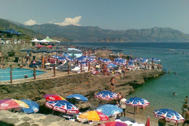 Ploče Beach, Krimovica, Montenegro