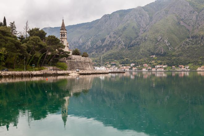 The Church of St. Matthew, Dobrota, Montenegro