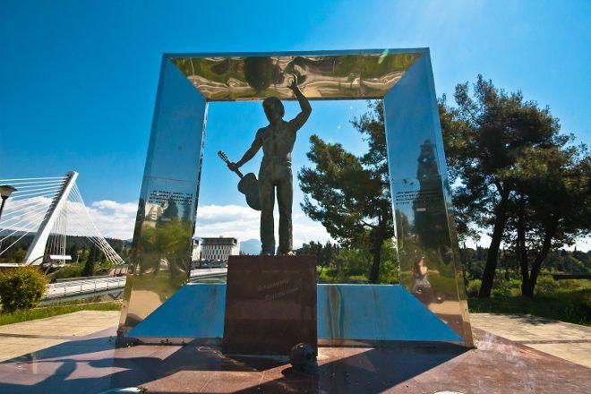Vladimir Vysotsky Monument, Podgorica, Montenegro