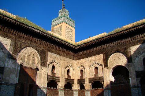 Bou Inania Medersa, Fes, Morocco