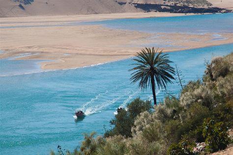 Moulay Bousselham Lagoon, Moulay Bousselham, Morocco