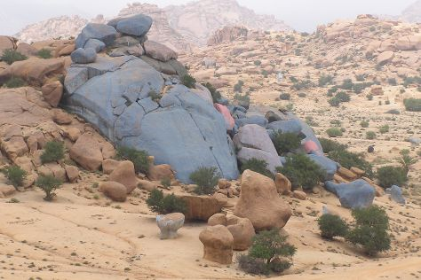 Painted Rocks, Tafraoute, Morocco