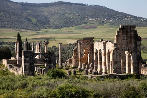 Archaeological Site of Volubilis, Meknes-Tafilalet Region, Morocco