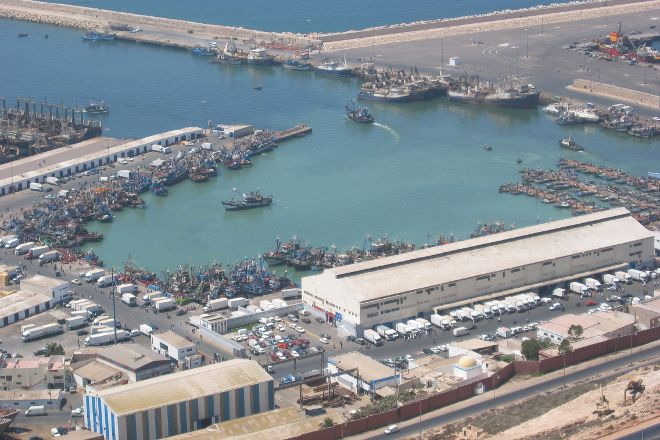 Agadir Fishing Port, Agadir, Morocco