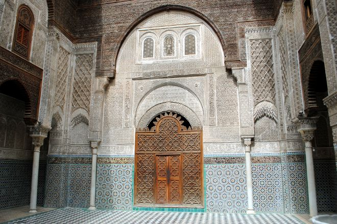 Al-Attarine Madrasa, Fes, Morocco