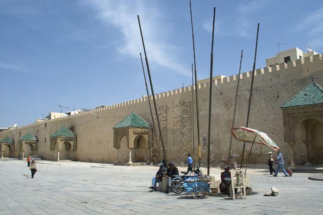 El Hedim Square, Meknes, Morocco