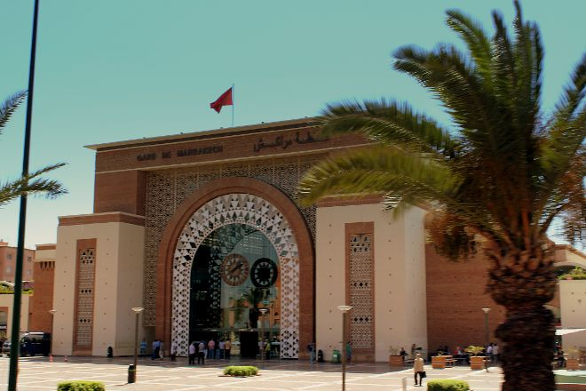 Marrakech Train Station, Marrakech, Morocco