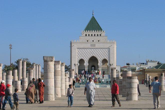 Mausoleum of Mohammad V, Rabat, Morocco