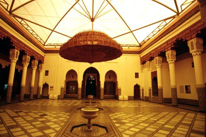 Musee de Marrakech - Fondation Omar Benjelloun, Marrakech, Morocco