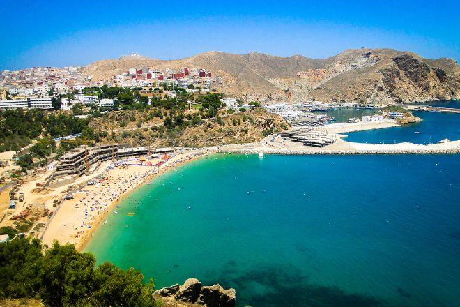Quemado Beach, Al Hoceima, Morocco