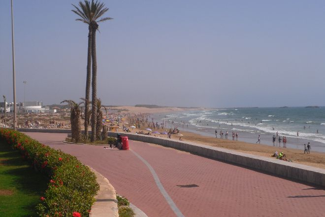 Seafront promenade, Agadir, Morocco