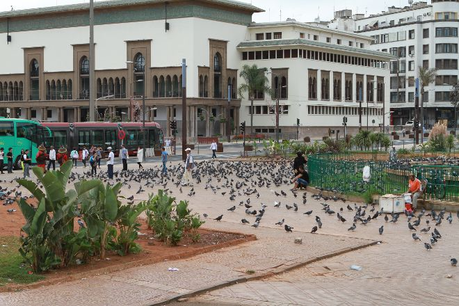 Place Mohammed V, Casablanca, Morocco